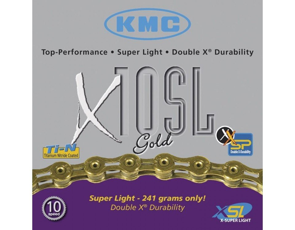 KMC x10SL SuperLight Chains