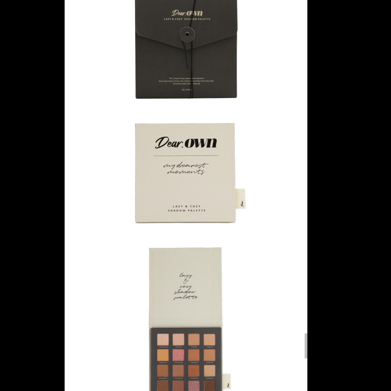 [Dear.Own] Lazy & Cozy Eyeshadow Palette