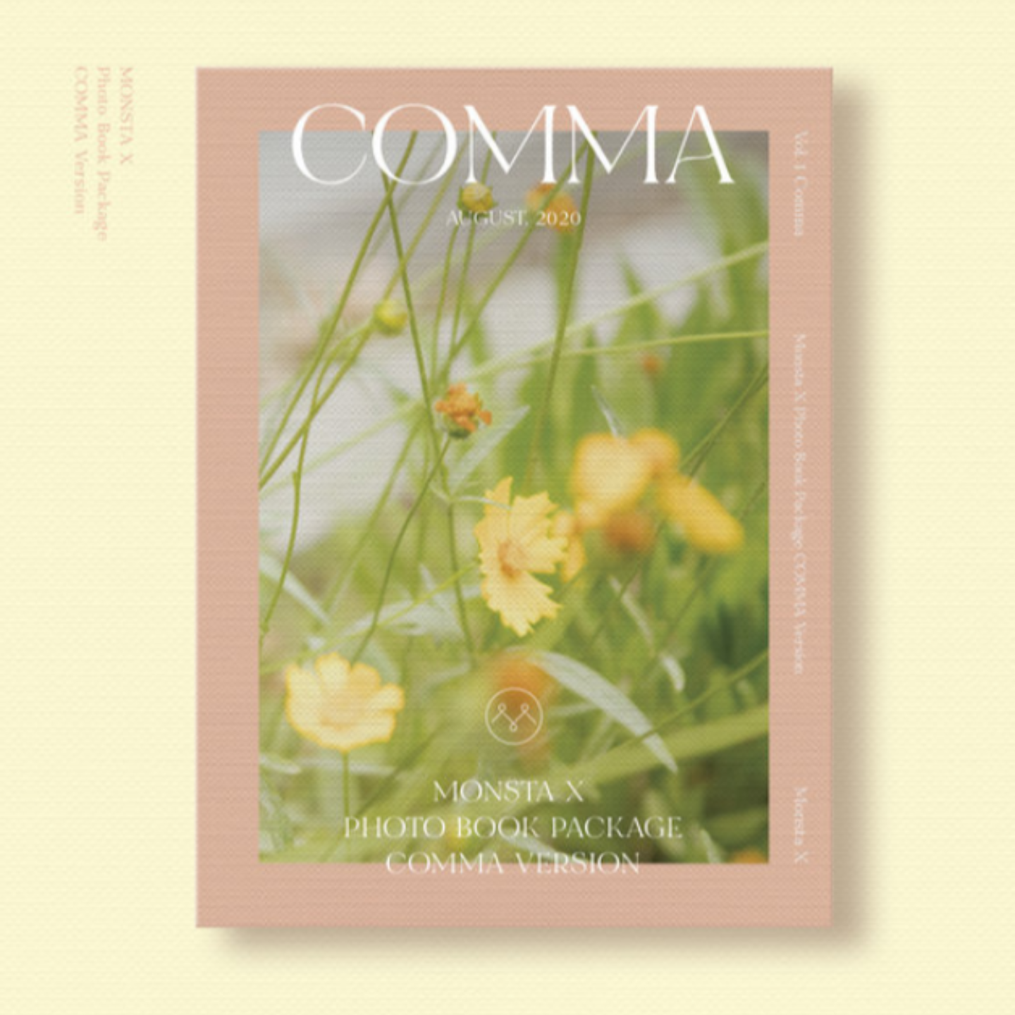 MONSTA X 2020 PHOTO BOOK : COMMA