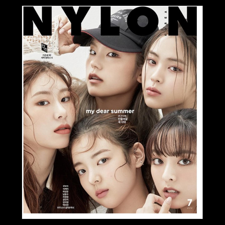 NYLON 2020.07 Itzy & Ha Sungwoon