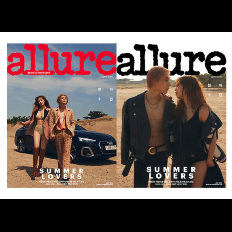 Allure 2020.07 Hyuna & E-Dawn