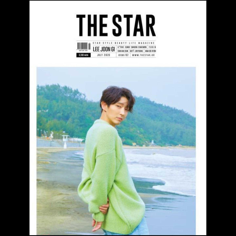 THE STAR 2020.07 Got7  Jinyoung & Izone  Sakura,Chaewon,Eunbi