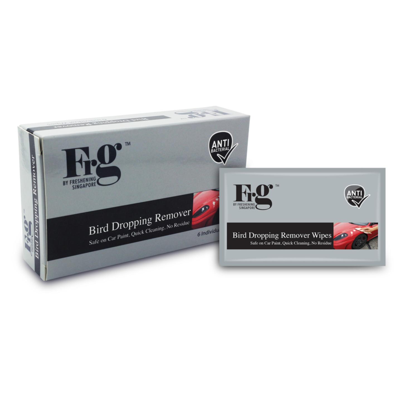 FRG Bird Dropping Remover Wipes 6s x 24 Boxes (Carton)