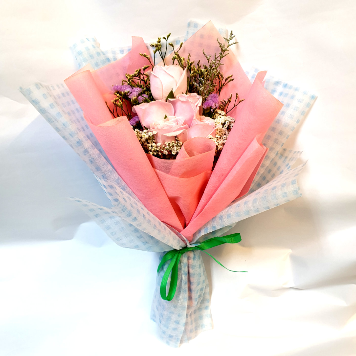 (NEW) Vflowers ( 8 Red or Pink Roses )