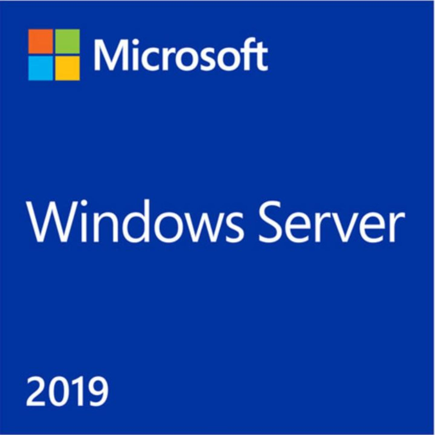 Windows Server Standard 2019 bundled with 5 CALs