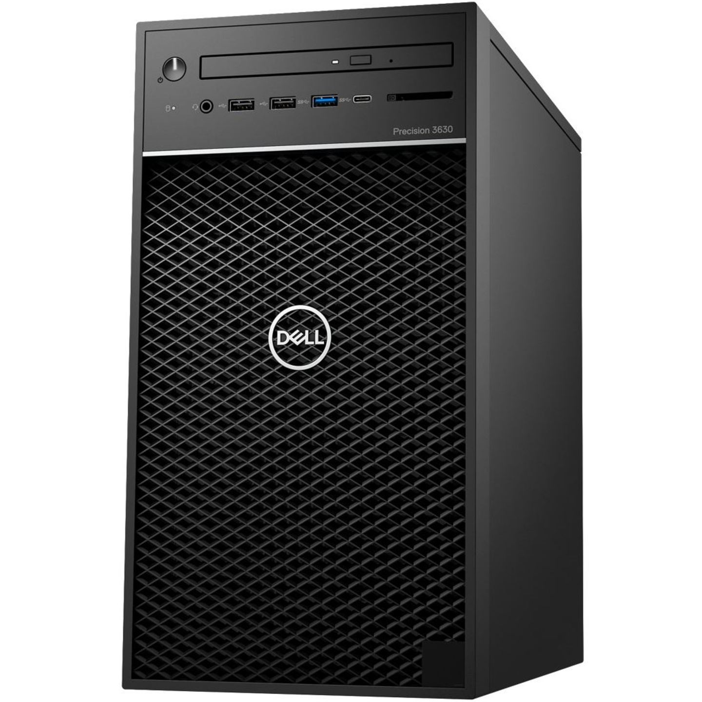 DELL PRECISION TOWER 3630- WITH MONITOR