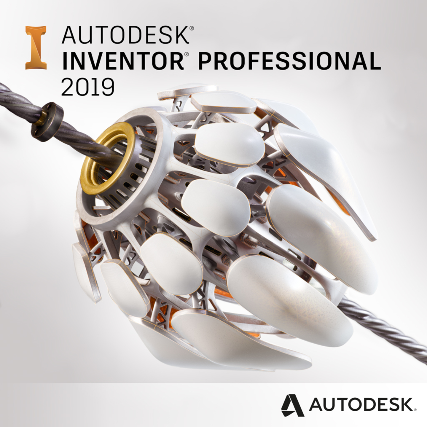 Autodesk Inventor Professional 2019  (1-Year Subscription)