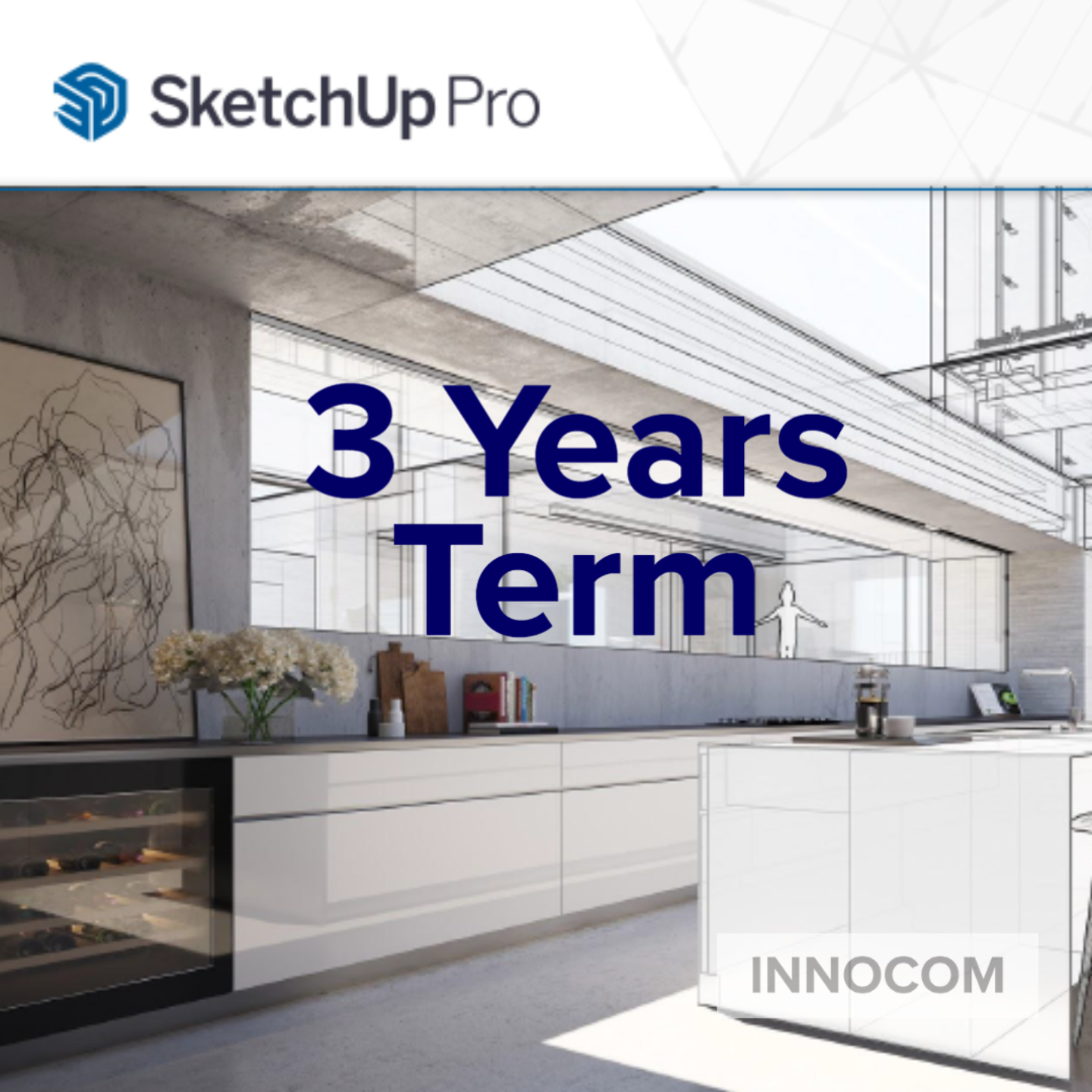 SketchUp Pro 2021-Annual (3 Years Term)