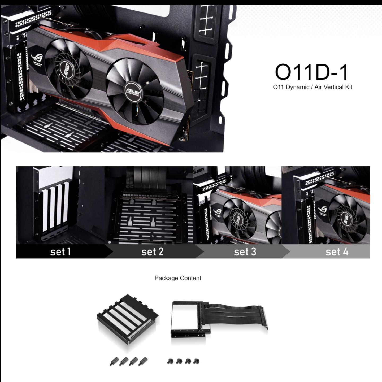 Lian Li PC-O11D-1X Vertical Riser GPU Kit
