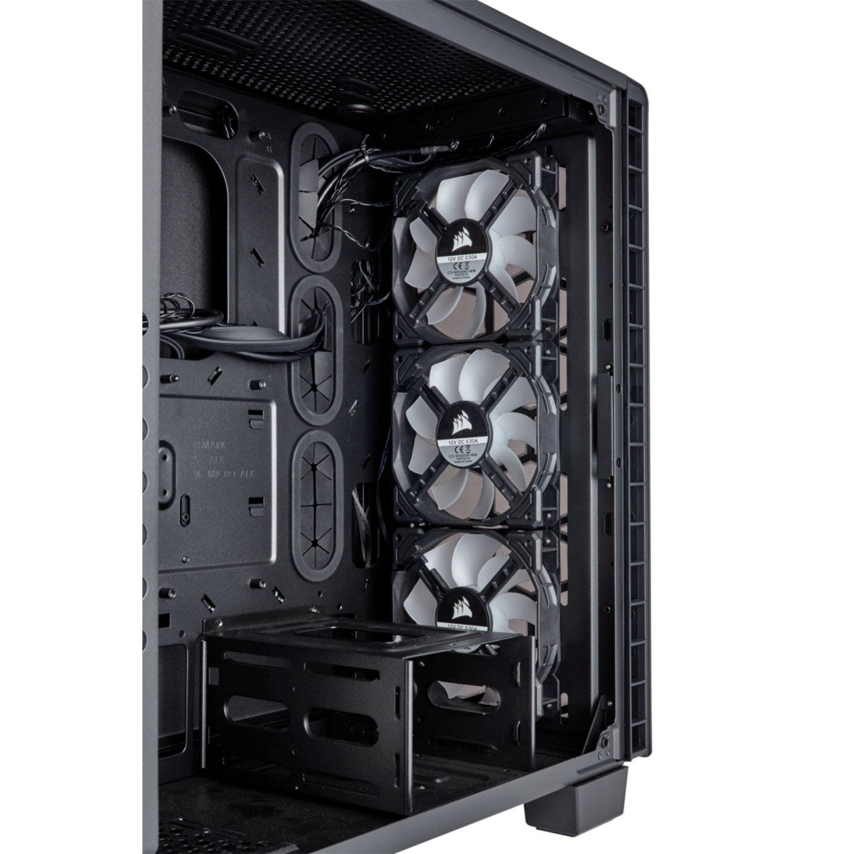 Corsair Crystal Series 460X RGB Compact ATX Mid Tower Case