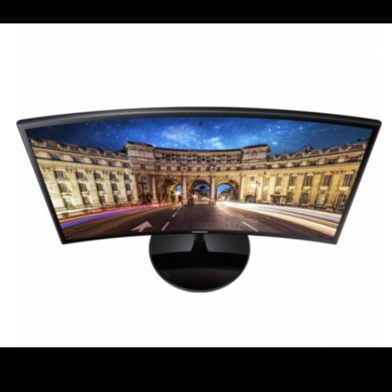 Samsung 24 Inch CF390 Curved LED Monitor (AMD FreeSync / Curved / 1920 x 1080 / LC24F390FHEXXS / Local Warranty)