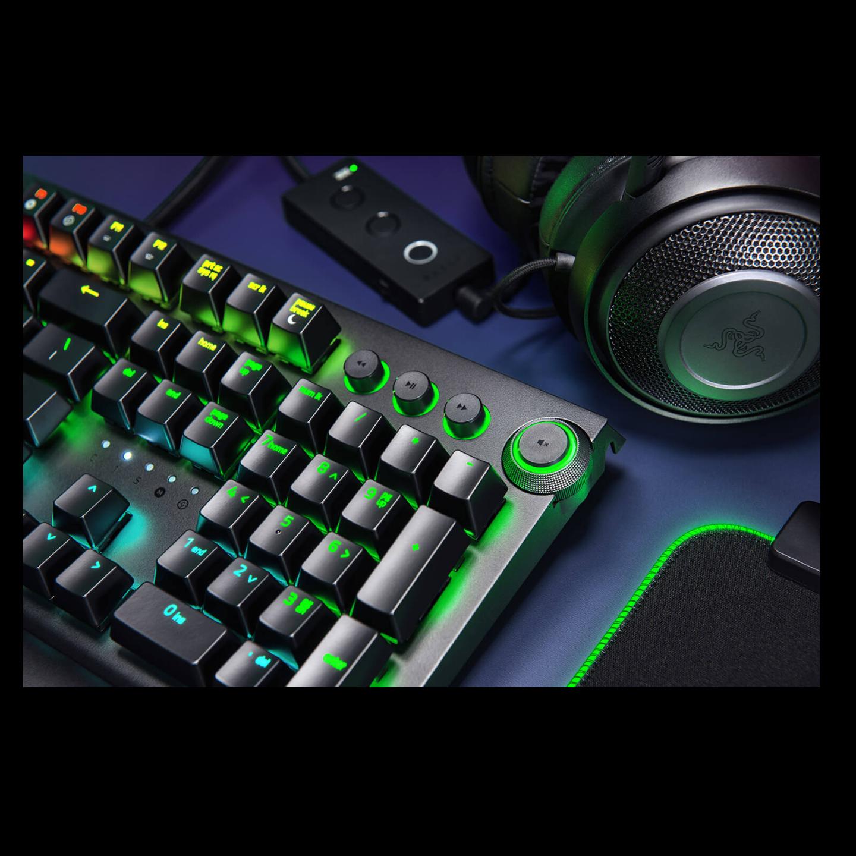 Razer BlackWidow Elite Mech Gaming Keyboard Yellow Switch