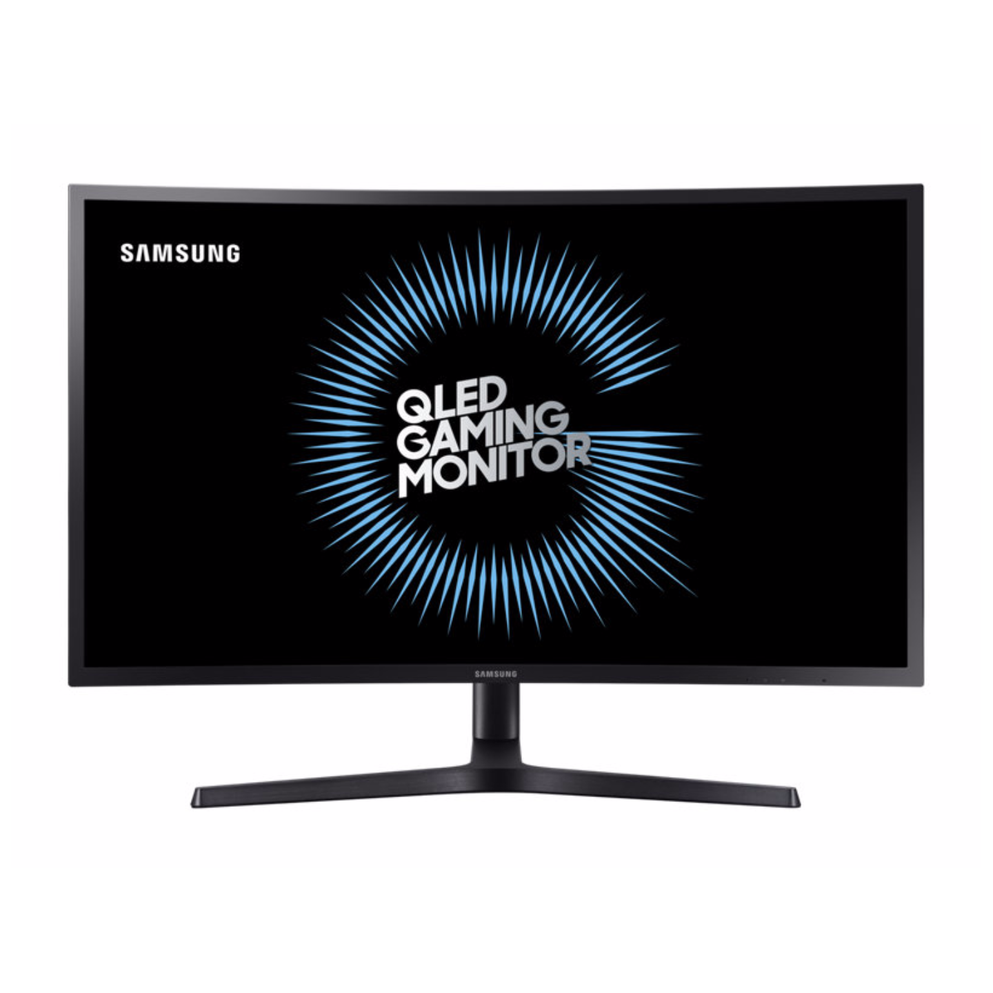 "Samsung 32"" QLED Gaming Monitor with richer and clear gameplay (Model : LC32HG70QQEXXS)"