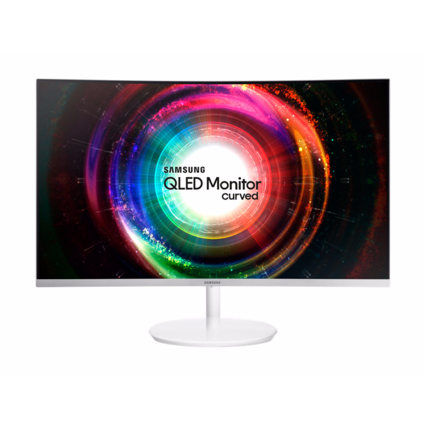 "Samsung 31.5"" QLED Curved Monitor CH711 with WQHD resolution (Model : LC32H711QEEXXS)"