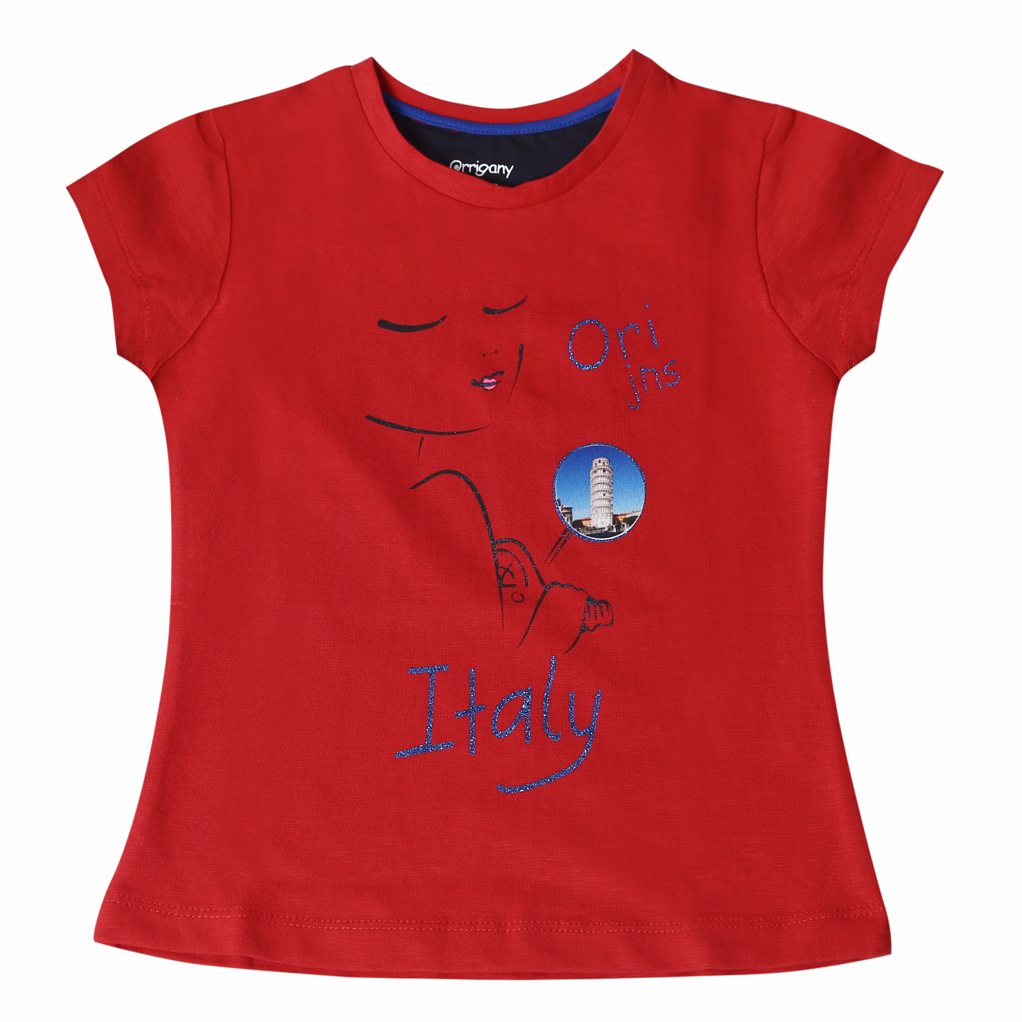 Girls T-shirt (Red)