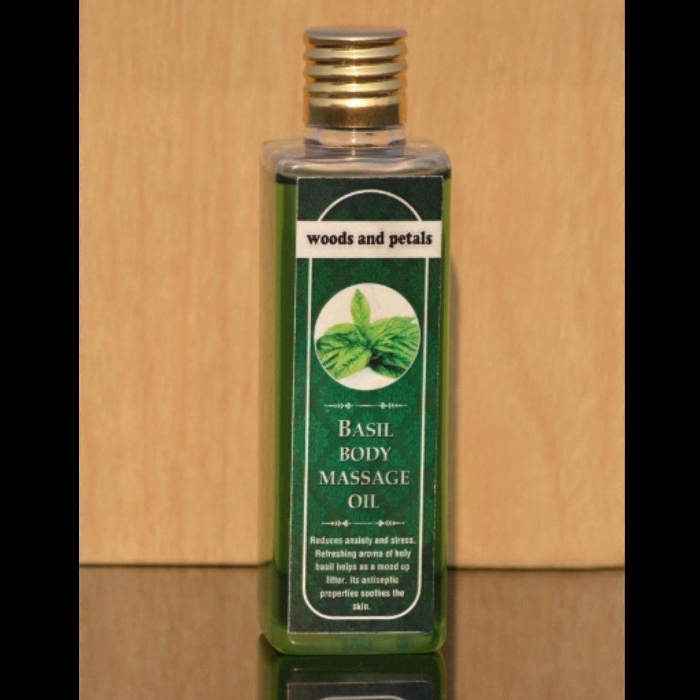 Basil Body Massage Oil I Anti Aging I Anti Cellulite I Relaxing I Rejuvenating