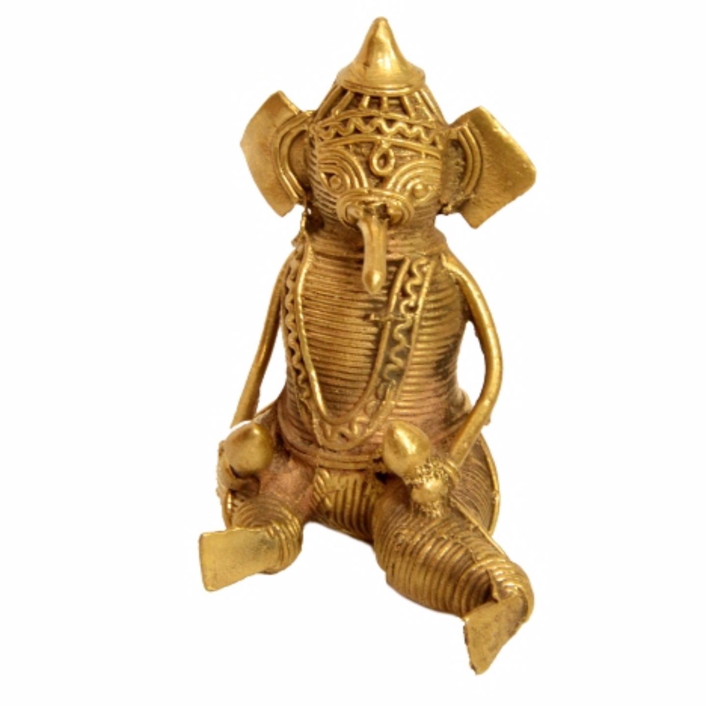 Sitting Ganesha with Marcara