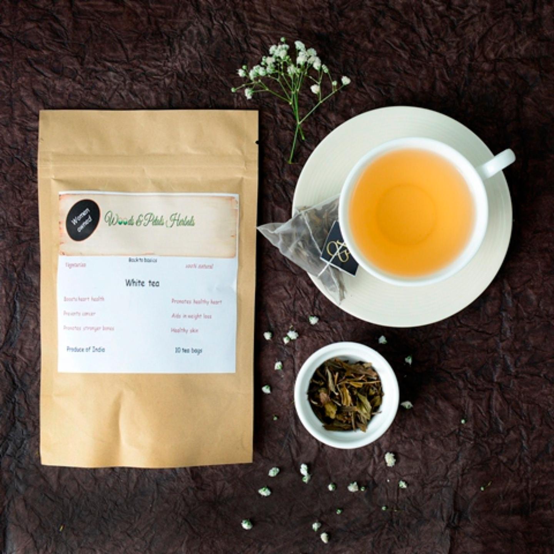 White tea ( Pyramid Tea Bags )