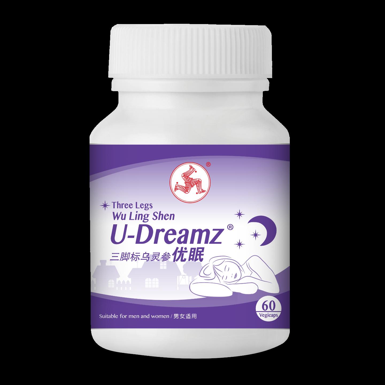 Wu Ling Shen U-Dreamz 60 capsules