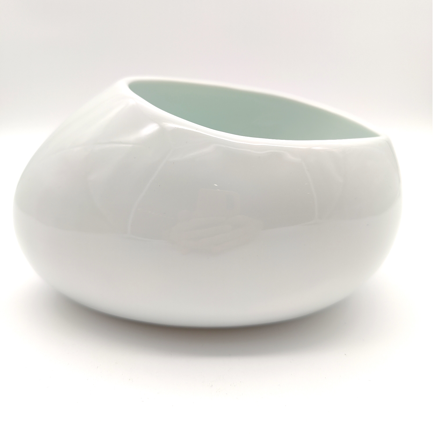Green White Cobble Stone Bowls-15