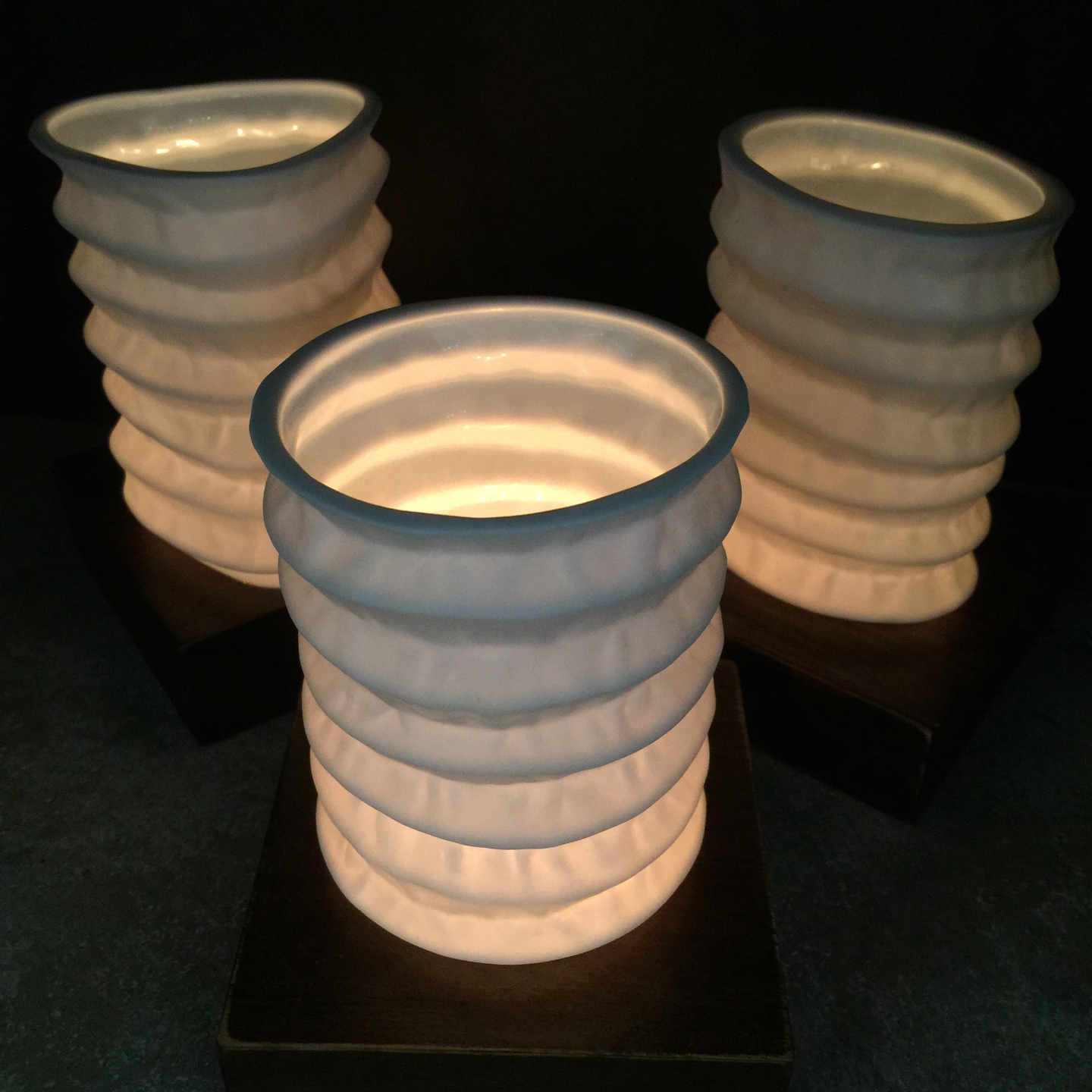 WB Chinese Paper Lantern Candle Lamps-S3 Square