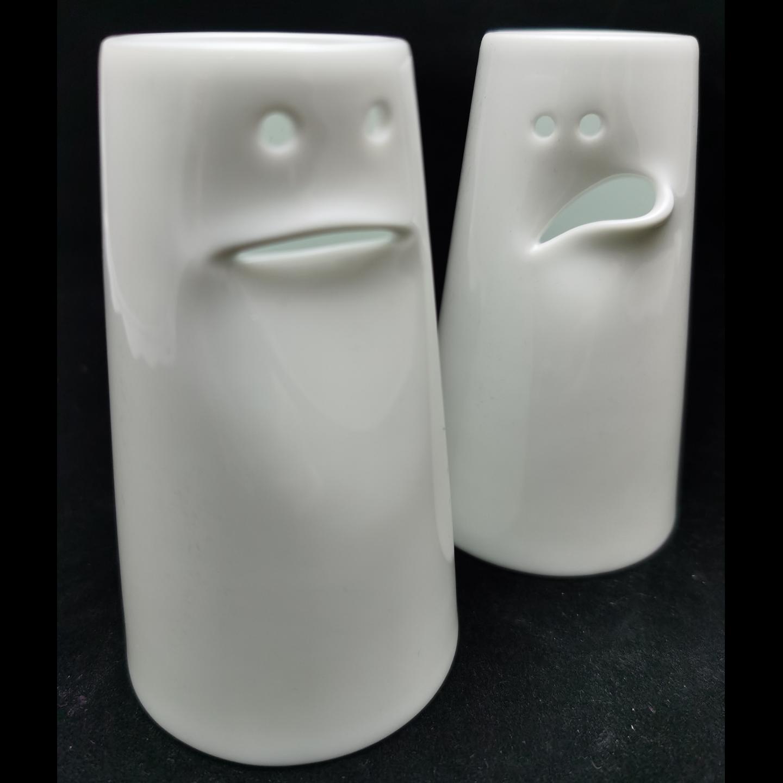 12 Faces Vase Set
