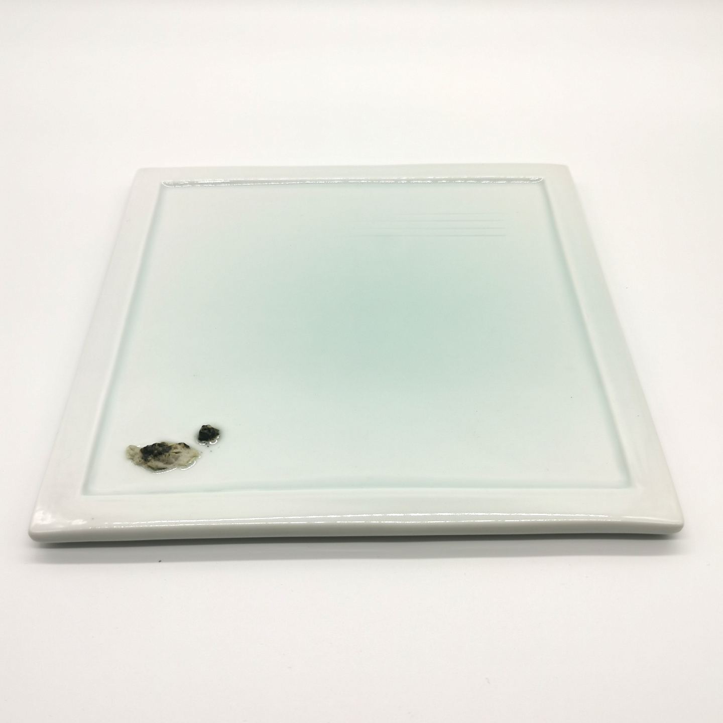 Green White Japanese Landscapes Flat Plates 2nd Edition - Square