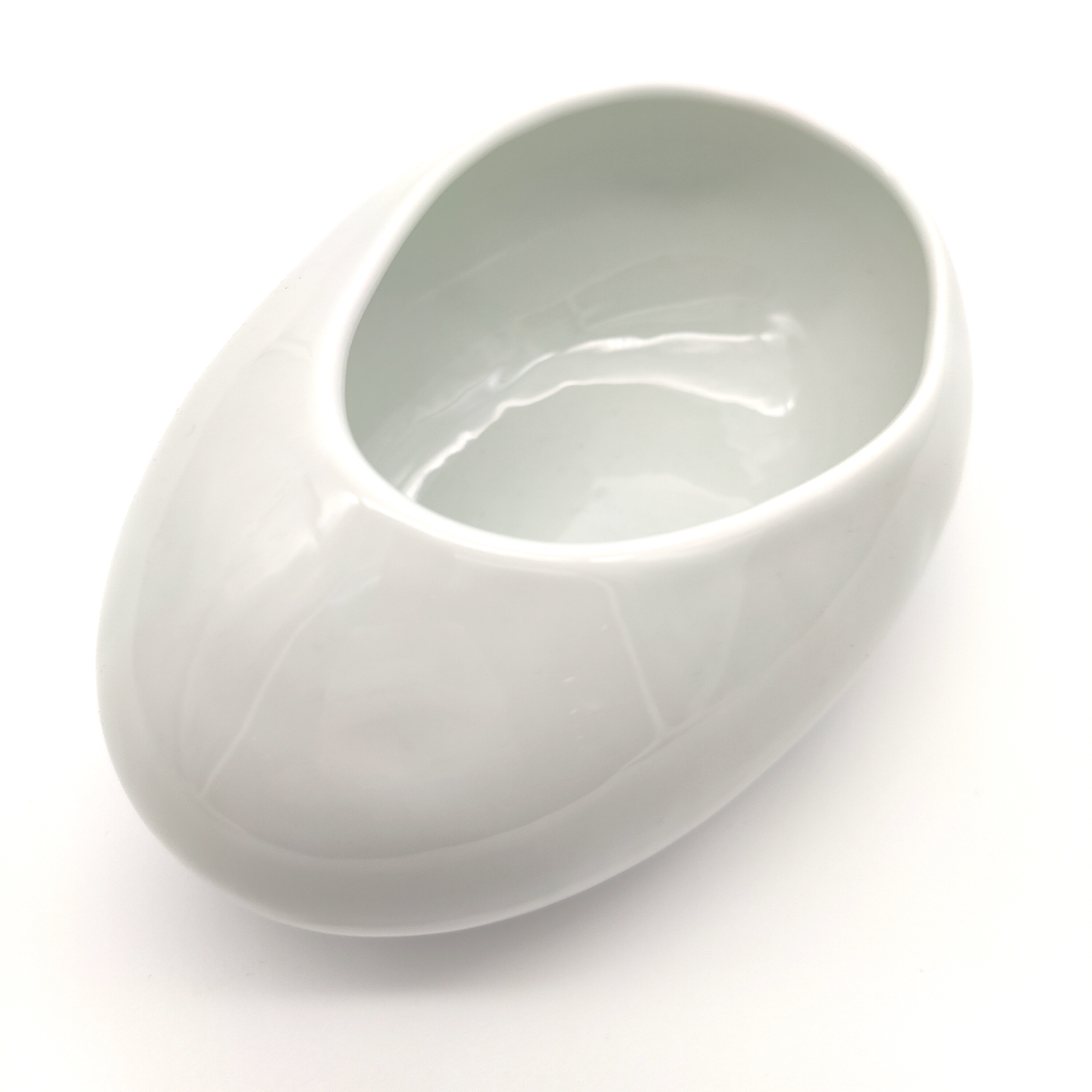 Green White Cobble Stone Bowls-13