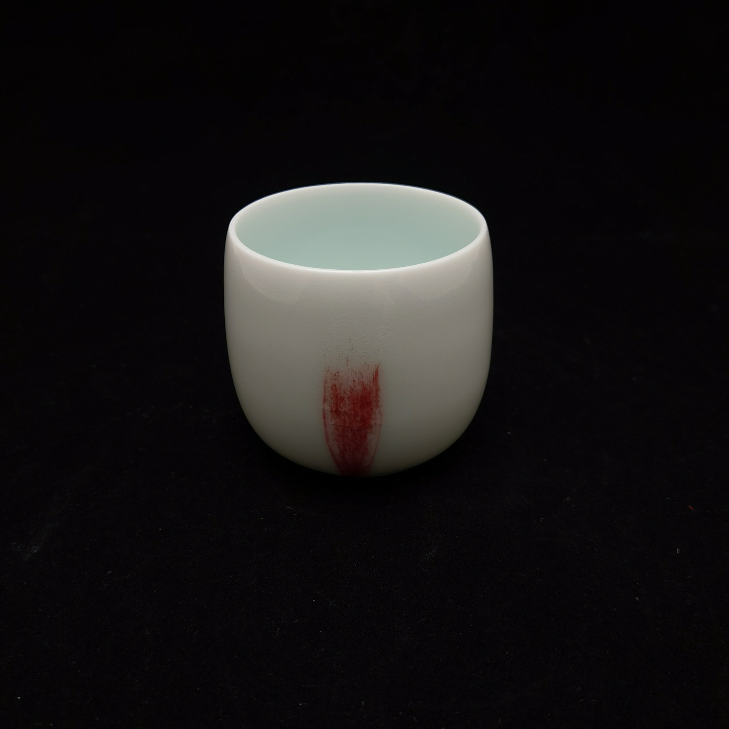 Under-Glaze Red Tea Cups - Short