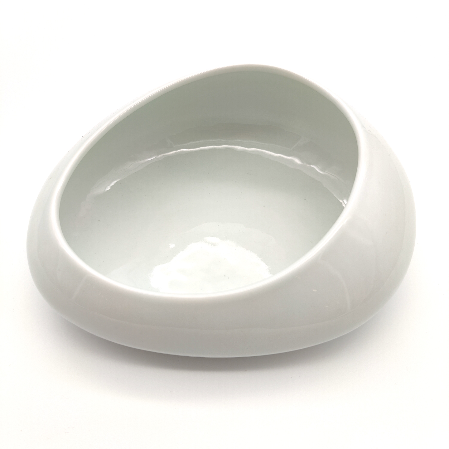 Green White Cobble Stone Bowls-11
