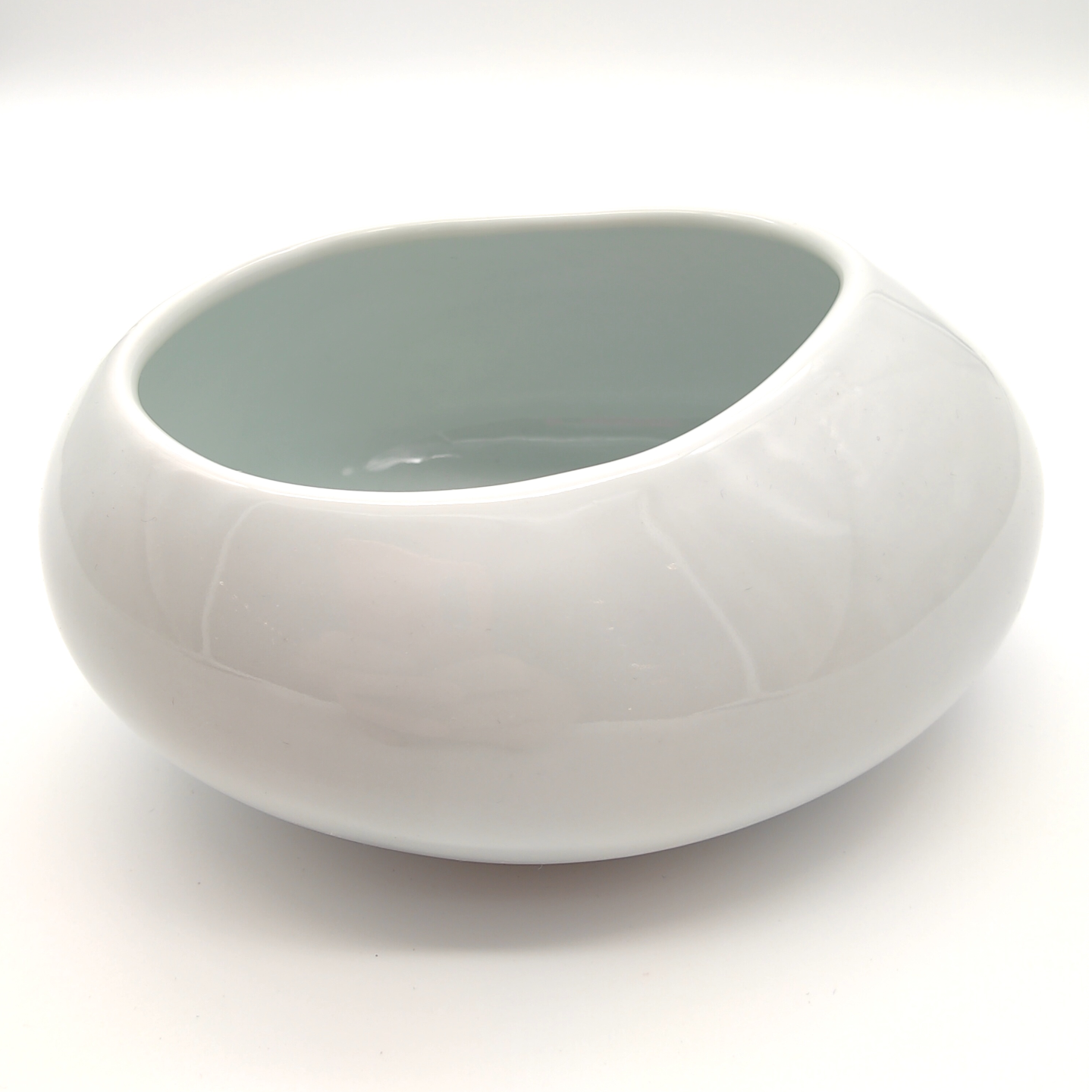 Green White Cobble Stone Bowls-09