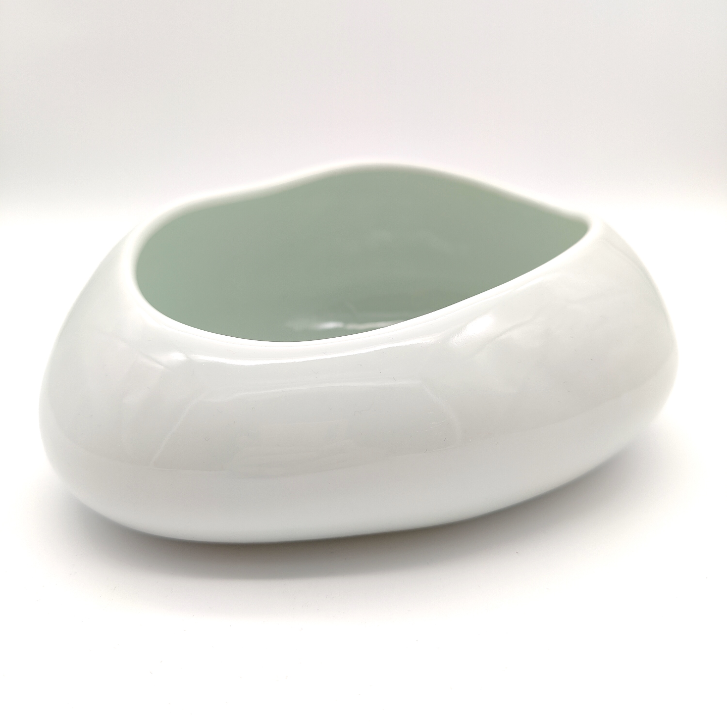 Green White Cobble Stone Bowls-14