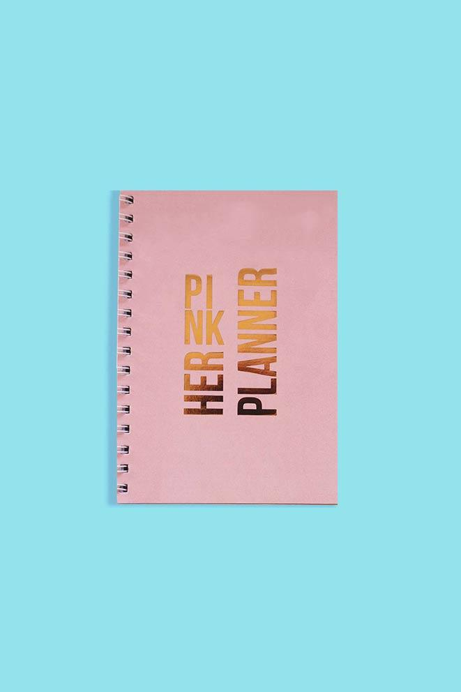Her Pink Planner