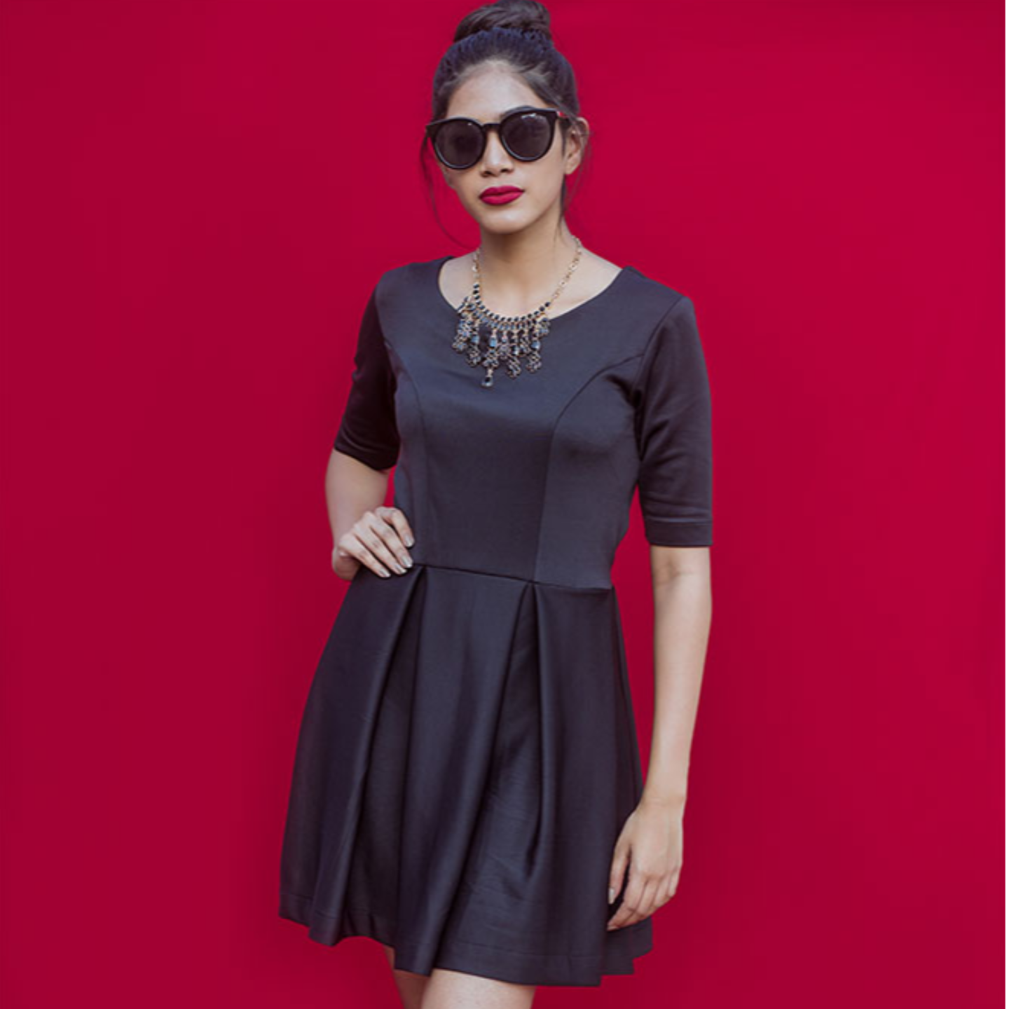 Entourage Black Dress