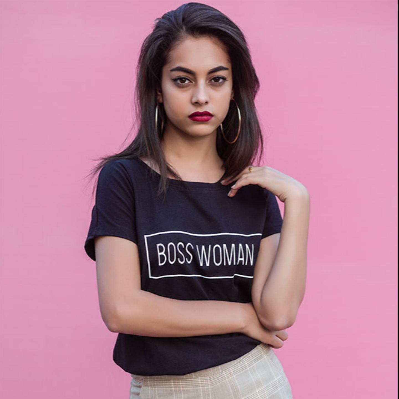 Boss Woman Black Tshirt