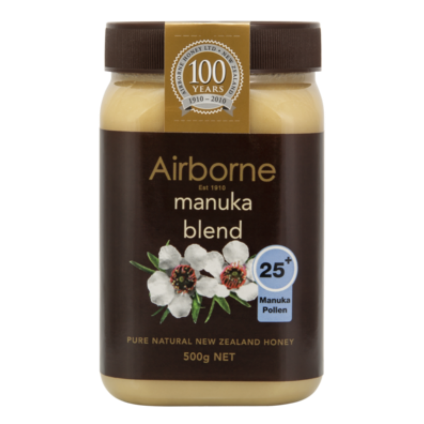 Airborne Health Manuka Blend 25+ Honey 500g