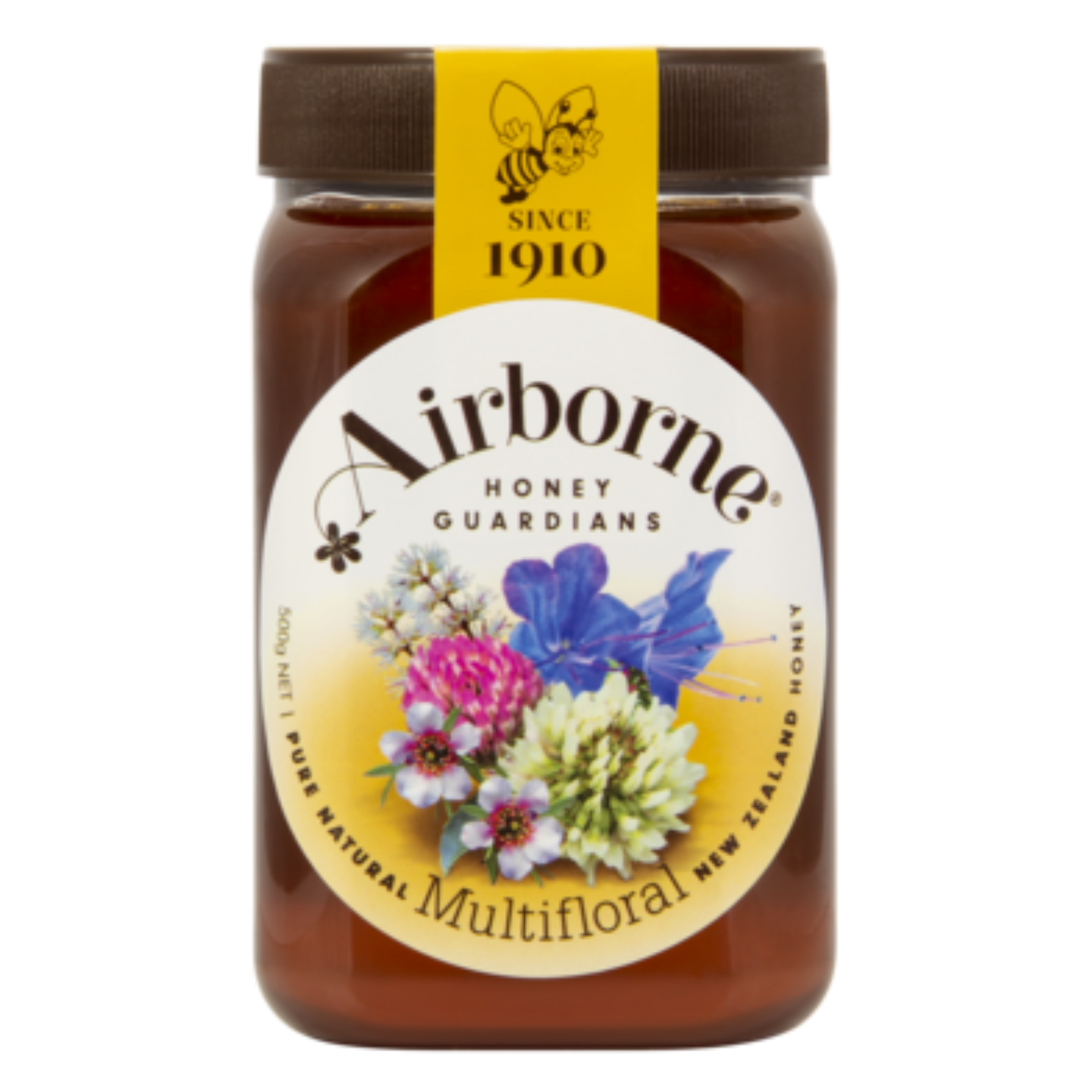 Airborne Floral Multifloral Honey 500g