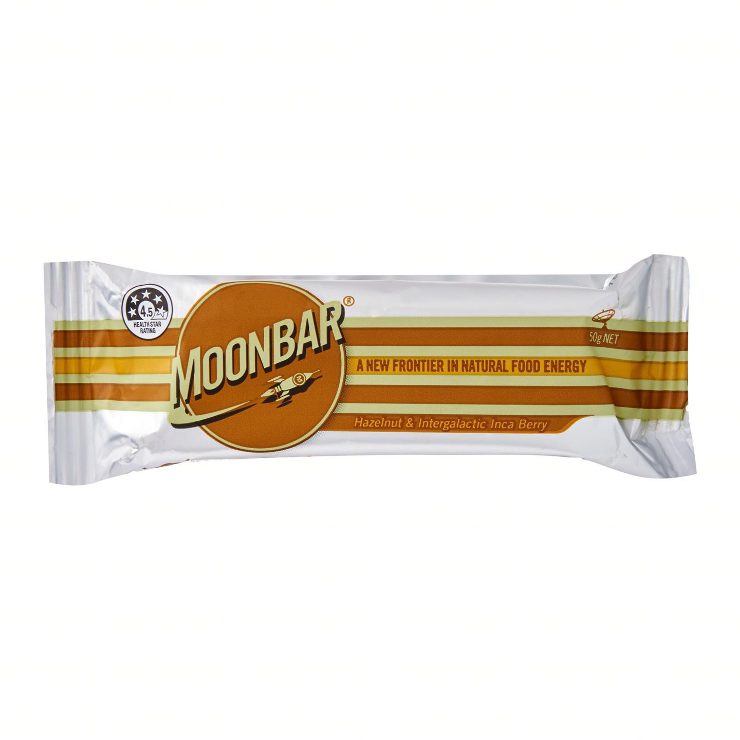 Moonbar Hazelnut & Intergalactic Inca Berry 50g