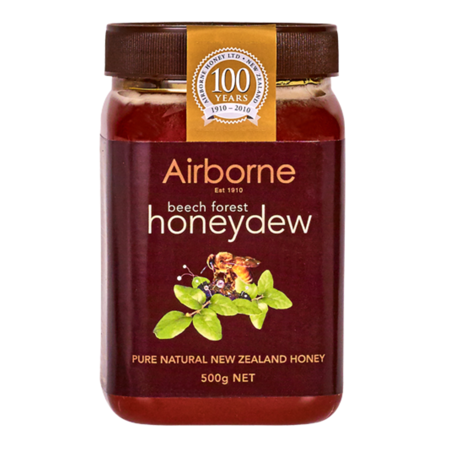 Airborne Health Honeydew Honey 500g BB 23092020