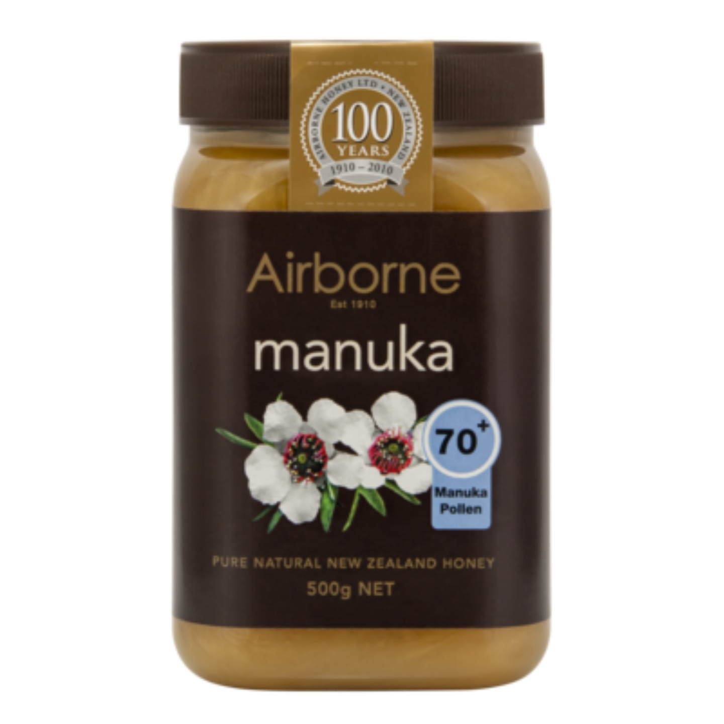 Airborne Health Manuka 70+ Honey 500g