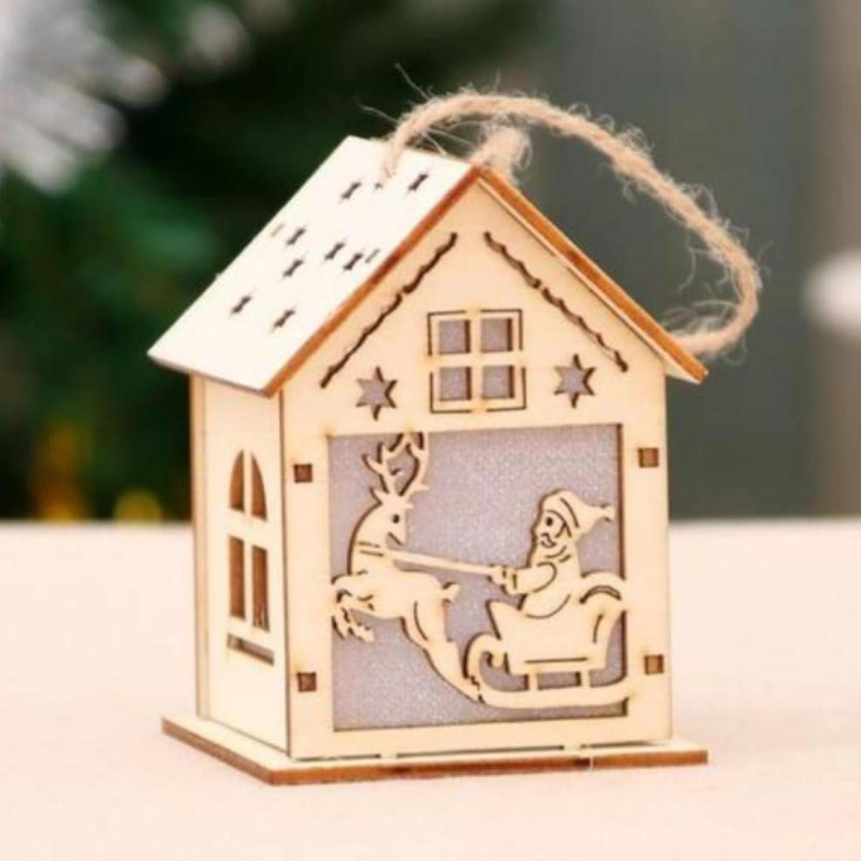 Personalised Christmas Light House