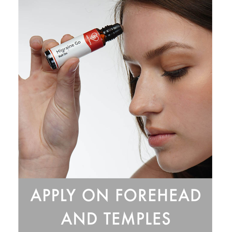 Herb Tantra  Migraine Go Headache Relief Roll-On 9 ml