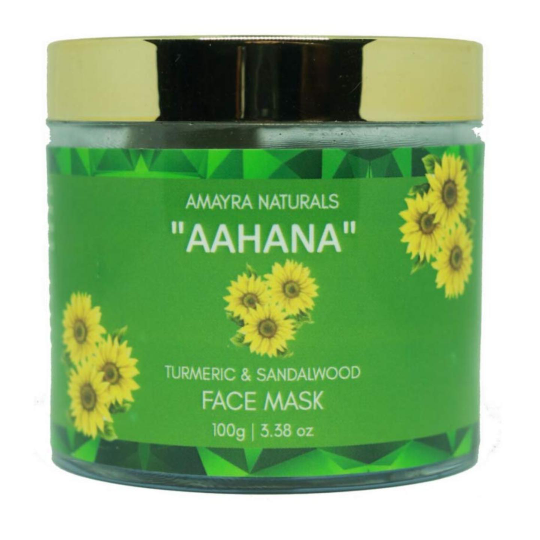 Amayra Naturals Aahana-Turmeric Sandalwood Face Mask