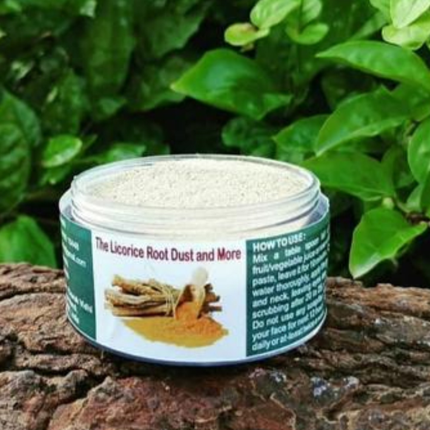 Licorice Root Dust And More (Face Pack - Glow on Sensitive Skin)