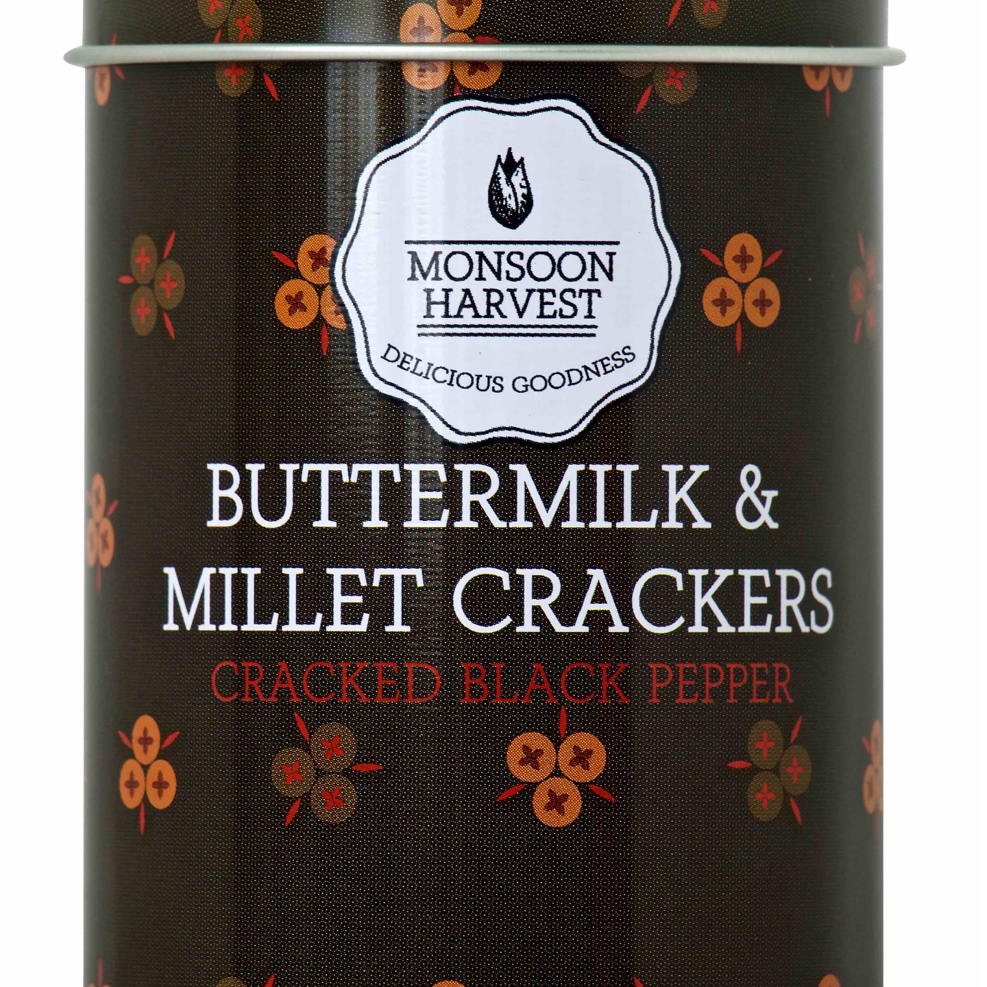 Buttermilk & Millet Crackers - Cracked Black Pepper