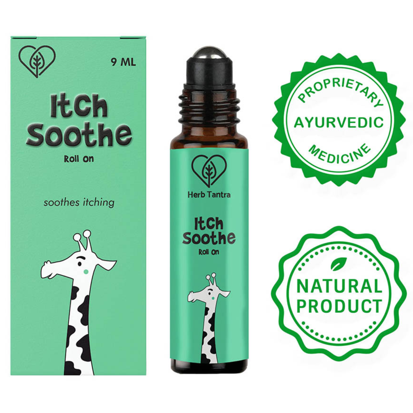 Herb Tantra Itch Soothe Kids Roll On For Itches & Bug Bites (9ml)