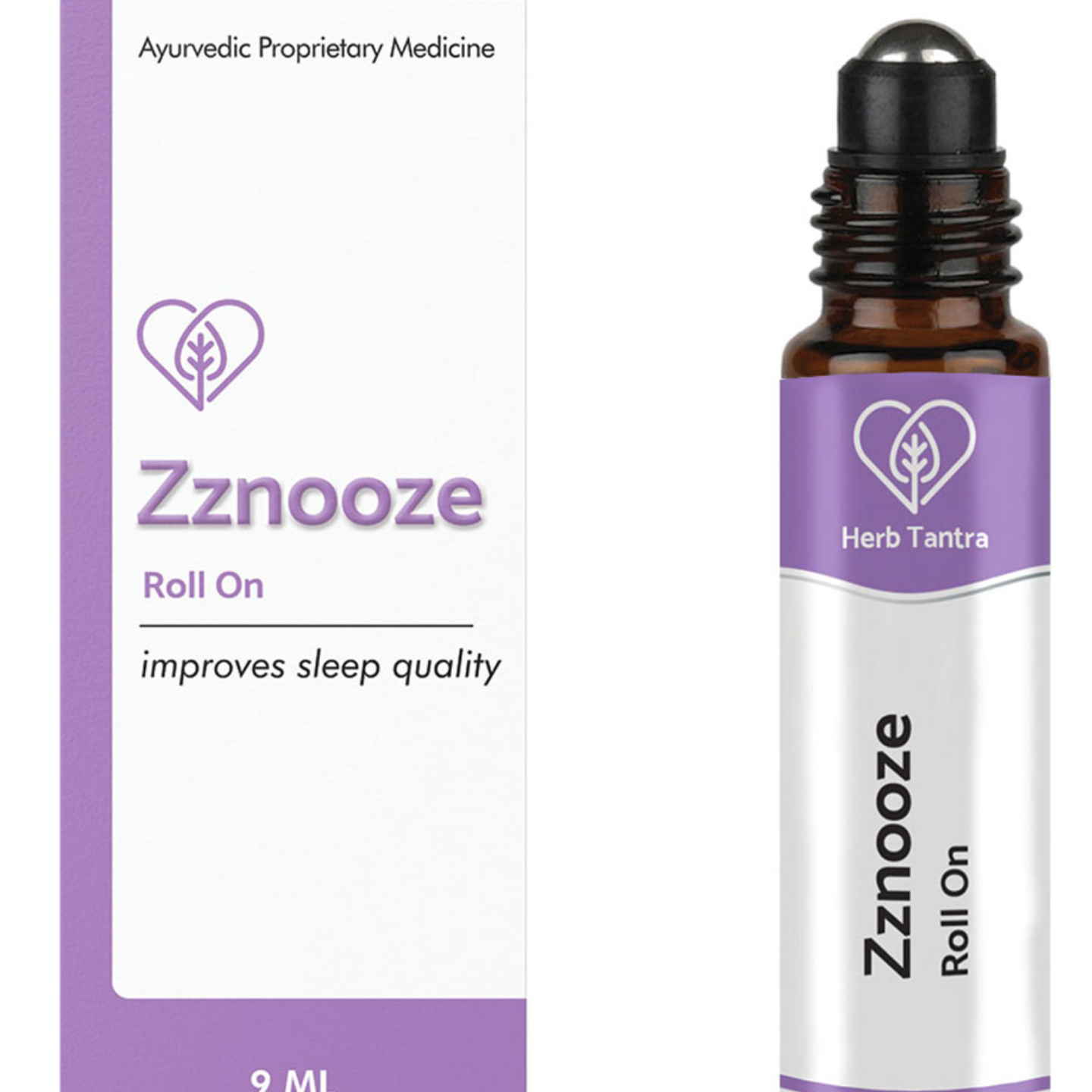 Herb Tantra Zznooze Roll On For Better Sleep quality (9 ml)