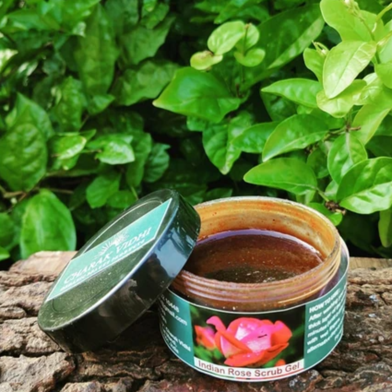Coffee and Chocolate Scrub Gel