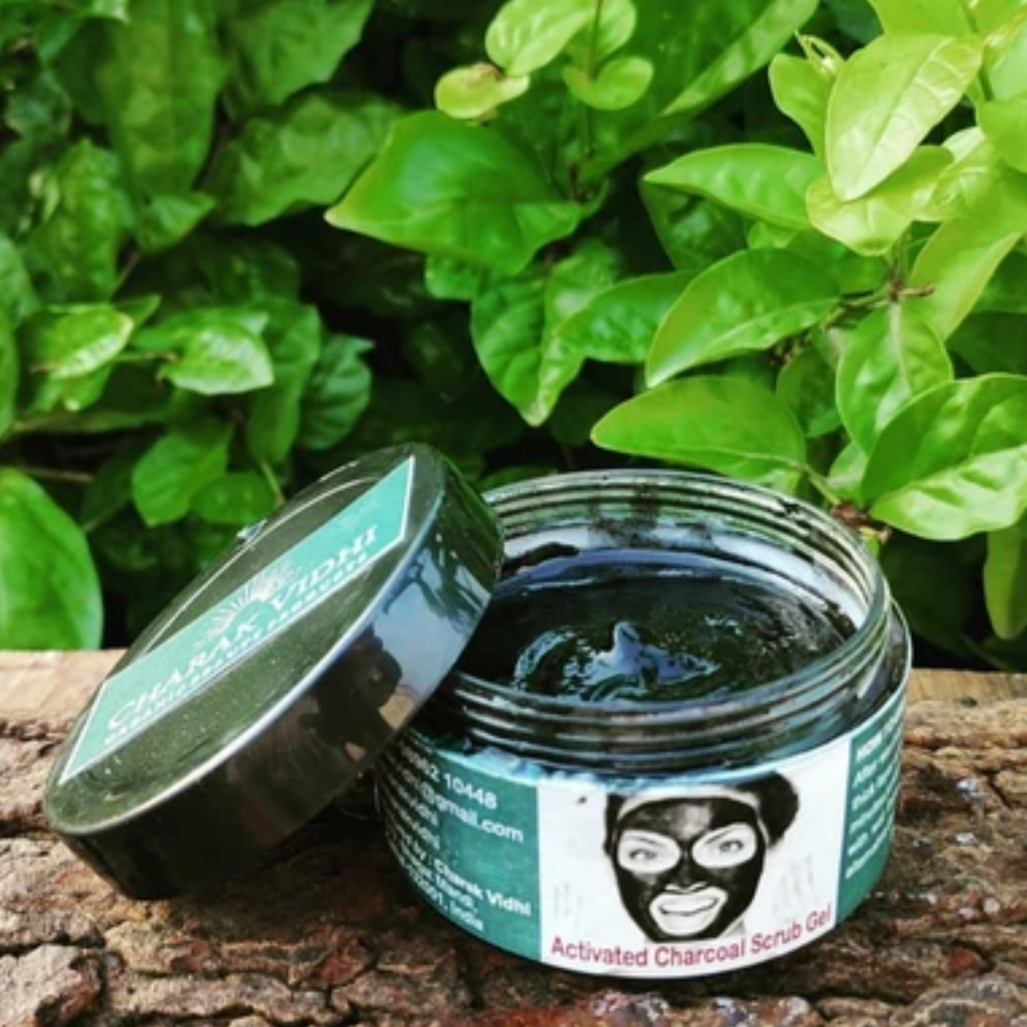 Activated Charcoal Scrub Gel