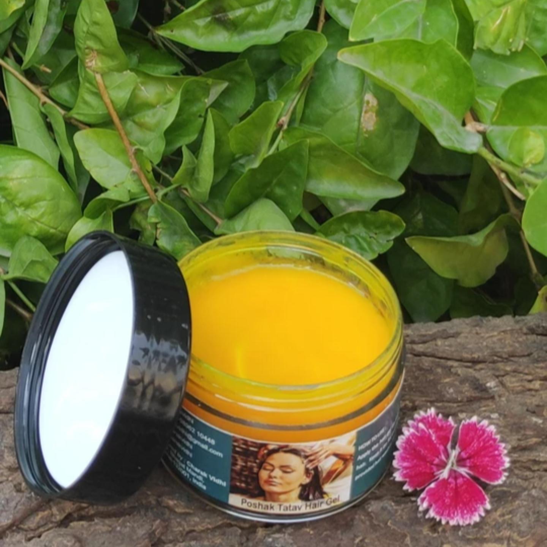 Poshak Tatva Hair Gel For Dry Hair and Scalp